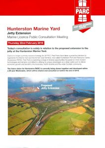 A picture of Hunterston PARC information leaflet