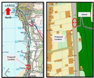 A78 location plan