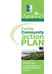 A photograph of an old Fairlie Community Action Plan